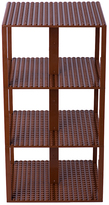 Brown 34-Piece 6'' x 6'' Classic Base Plates Brik Tower Set