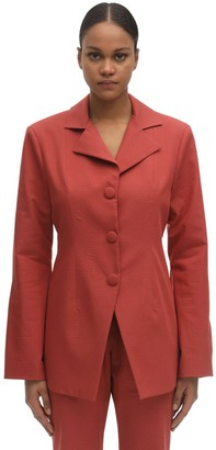 LIYA Fitted Fil Coupe Blazer