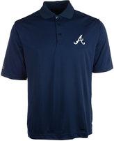 Antigua Men's Atlanta Braves Pique Extra-Lite Polo