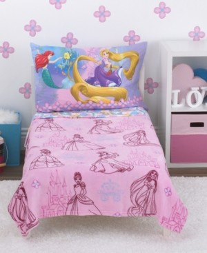 Disney Princess 4-Piece Toddler Bedding Set Bedding