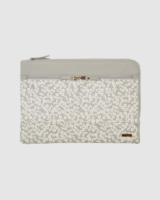 Typo - Women's Grey Laptop Cases - Oxford 13 Inch Laptop Case - Size One Size at The Iconic