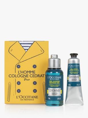 L'Occitane L'Homme Cologne Cedrat Duo Bodycare Gift Set