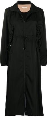 Ssheena Drawstring Detail Trench Coat