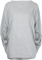Bassike boat neck circle top