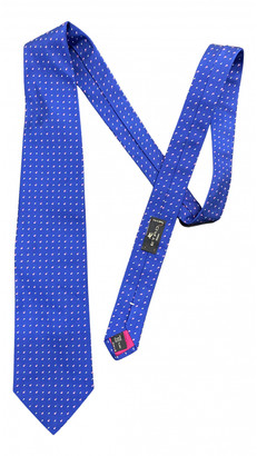 Etro Blue Cotton Ties
