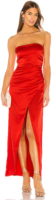 superdown Loren Strapless Maxi Dress