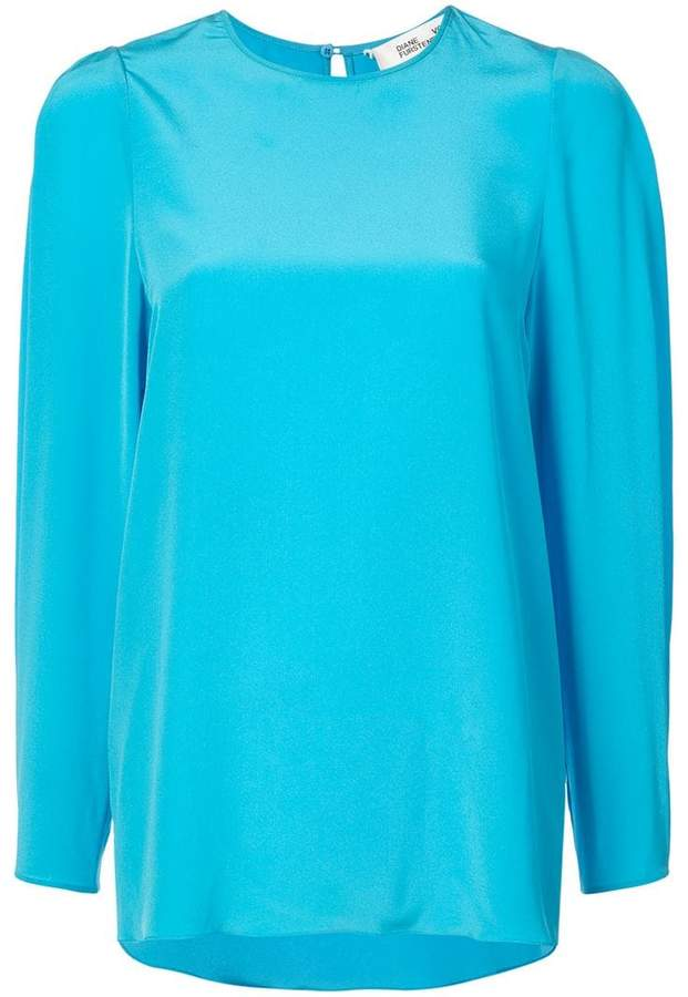 Diane von Furstenberg long sleeve blouse