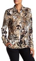 Basler Leopard Print Blouse