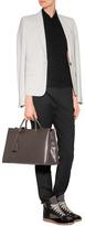 Maison Martin Margiela Wool Stretch Blazer in Stone Grey