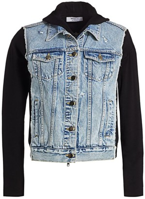 Bailey 44 Le Mot Juste Denim & Knit Combo Jacket
