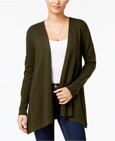 Style&Co. Style & Co Mixed-Knit Open Cardigan, Created for Macy's