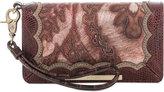 Brahmin Debra Red Verona Wallet Wristlet