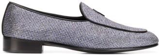 Giuseppe Zanotti G-Flash glittery slip-on loafers
