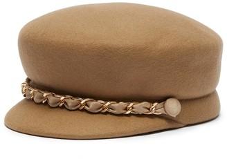 Eugenia Kim 'Sabrina' chain wool felt newsboy cap