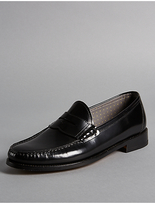 Autograph Leather Slip-on Loafers