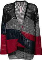 Antonio Marras lattice knit cardigan