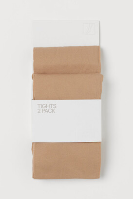 H&M 2-Pack Thin Tights