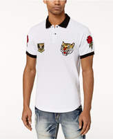 Reason Men's Parkhill Embroidered-Patch Polo