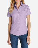 Eddie Bauer Women's Wrinkle-Free Short-Sleeve Shirt - Solid