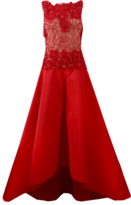 Naeem Khan Beaded Taffeta Gown