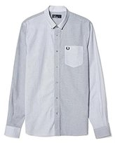 Fred Perry Striped Panel Mix Shirt