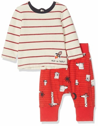 Catimini Baby Boys' CP36040 TS M/L + PANTAL Clothing Set