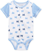 First Impressions Train-Print Creeper, Baby Boys' , Only at Macy's
