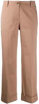 Alberto Biani Turn-Up Cuff Cropped Trousers
