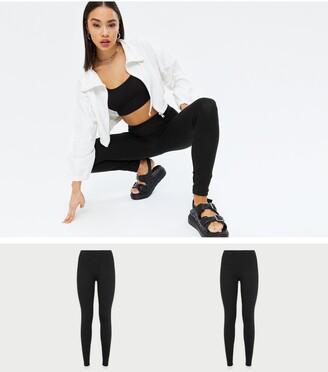 New Look 2 Pack Jersey Leggings