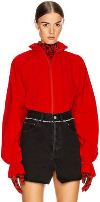 Vetements Tracksuit Blouse in Red | FWRD