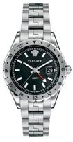 Versace Hellenyium GMT Stainless Steel Bracelet Watch