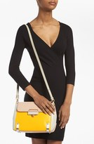 Marc by Marc Jacobs 'Sheltered Island' Colorblock Leather Crossbody Bag, Small