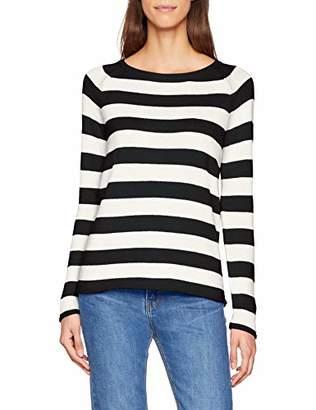 S'Oliver Women's .810.61.5636 Jumper, (Black Stripes 99G0)