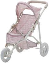 Teamson Kids Olivia's Little World Polka Dots Princess Baby Doll Jogging Stroller