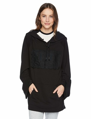 Puma Women's Fenty Fleece Off Shoulder Hoodie