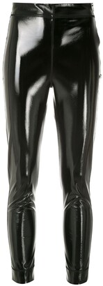 Gloria Coelho Patent Skinny Trousers