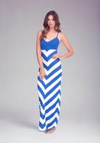 Thumbnail for your product : Bebe Chevron Stripe Maxi Dress
