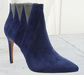 Kensie Suede Leather Booties - Tarquin