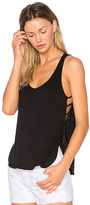 Lanston Side Strap Tank in Black. - size XS (also in )