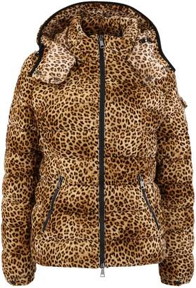 Moncler Leopard down jacket