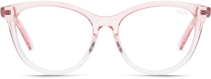 Quay x Chrissy Teigen All Nighter 50mm Blue Light Blocking Optical Glasses