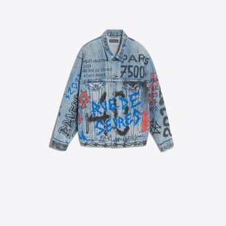 Balenciaga Graffiti Big Fit Jacket
