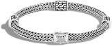 John Hardy Women's Classic Chain 5MM Hammered Station Bracelet in Sterling Silver