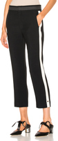 Chloé Light Cady Striped Trousers