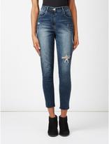 George Distressed Skinny Jeans