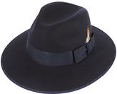 Christy Christys' Madison Fedora Hat, Navy