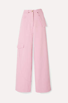 Jacquemus Nimes Mid-rise Wide-leg Jeans - Baby pink