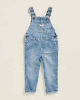 Osh Kosh Toddler Girls) Rainbow Wash Denim Overalls
