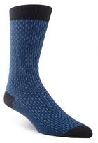 Cole Haan Dog Bone Textured Socks
