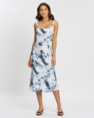 Neptune Silky Slip Dress
